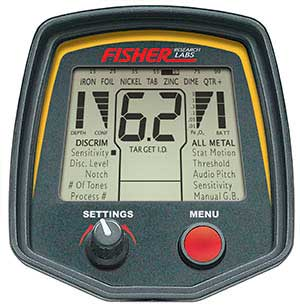Fisher F75 display