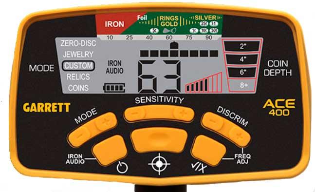 ACE 400 control-panel