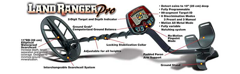 Bounty Hunter Land Ranger Pro Features