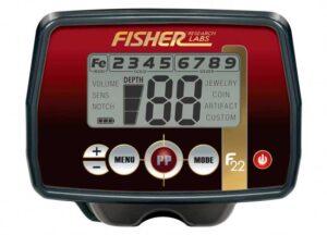 Fisher F22 LCD Screen