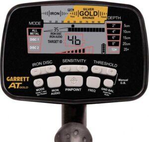 Garrett AT Gold control panel