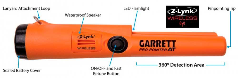 Garrett Pro-Pointer AT Features