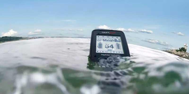 Nokta Makro Simplex+ Underwater Use