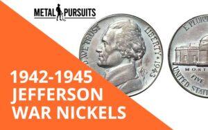 Jefferson War Nickels 1942-1945